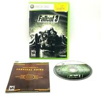 Fallout 3 Microsoft Xbox 360 Complete Tested Very Good Bethesda 2008 Havok
