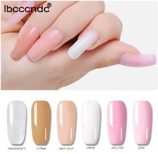 30g Nail Art consejos de uñas de gel de poliéster construcción rápida Diseñador De Camuflaje De Extensión UV