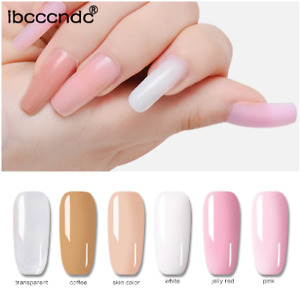 30g Nail Art Poly Gel Quick Building Nail Tips Extension Camouflage Builder UV