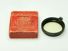 Leica Fihel Yellow Gelb Filter