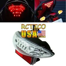 For Suzuki Hayabusa GSX1300R 99-07 2005 2006 Tail Light Turn Signal Clear LED US
