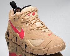 Nike Air Barrage Low Men's Vachetta Tan Laser Crimson Lifestyle Sneakers Shoes