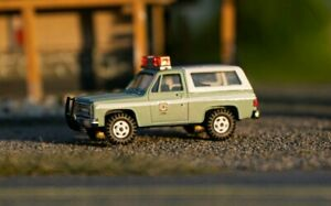 HO 1/87 Custom RPS Boley Trident USFS Forest Service Chevy Blazer 4x4 Fire Truck