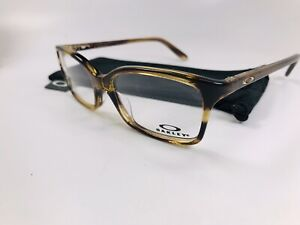 ⭐️ New Oakley OX1130-0852 Driftwood INTENTION Eyeglasses 52mm with Oakley Bag