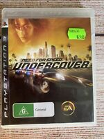 Need For Speed: Undercover + Manual - Sony Playstation 3 ~ PS3 ~ MBC