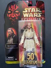 star wars black series qui gon jinn figure,