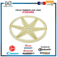 Poulie tambour Lave-linge - 41024466 -  Candy Hoover Rosieres Baumatic Whirlpool