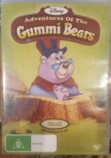 DISNEY ADVENTURES OF THE GUMMI BEARS 2 RARE DELETED DVD CARTOON ANIMATION SERIES