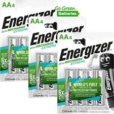 12 x Energizer AA 2300 mAh Rechargeable Batteries EXTREME Pre Charged NiMH LR6