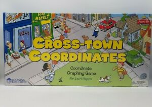 Learning Resources Cross-Town Coordinates - Graphing Game -Brand New - Sealed!!!