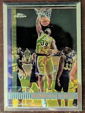 🔥 1997-98 Topps Chrome Shaquille O'Neal Los Angeles Lakers Champ