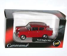 Cararama - FORD ANGLIA MkI (Red) Model Scale 1:43