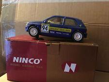 NINCO RENAULT CLIO 16v 50108 #94 CATALUNYA RALLY MB Muy Raro
