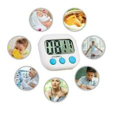 Large LCD Kitchen Cooking Digital Timer Count Down up Clock Loud Alarm Magnetic