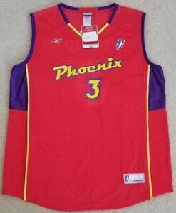 DIANA TAURASI WNBA OFFICIAL LICENSED PHOENIX MERCURY REPLICA JERSEY LARGE UCONN