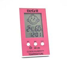 Begrit habitación Higrometro Termometro Para Bebé Humedad Humedad Temperatura Ambiente M