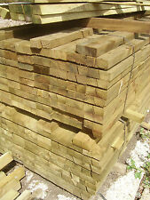 CANT TIMBER FENCE RAIL PRESSURE TREATED 2.4M/ BEV RAILS/ FENCE RAILS