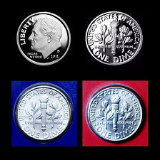 2011 P+D+S+S Roosevelt Dime Mint Silver & Clad Proof Set ~ PD in Mint Wrap