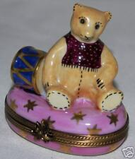 """Limoges """"POOH? Bear"""" by Parry Vieille Hand Painted"""""""