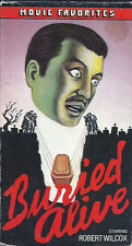 Buried Alive (VHS) Rare! Cool artwork cover! 1939 Thriller!