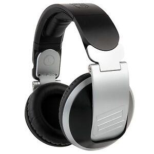 RELOOP  RHP-20 DJ HEADPHONES W/ DETACHABLE CABLE.  PRO DJ HEADPHONES