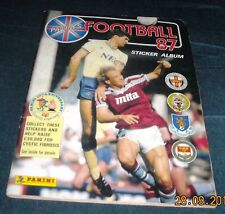 PANINI FOOTBALL 87 ALBUM - 100% COMPLETE - EXCELLENT CONDITION
