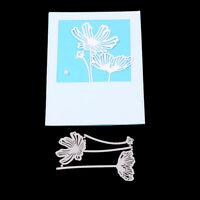 Stanzschablone Blume Weihnachts Hochzeit Oster Geburstag Karte Album Deko DIY