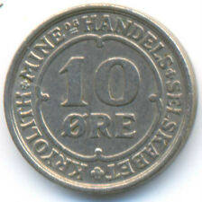 Greenland Ivigtut Cryolite Mining & Trading Company 10 Ore 1922 VF+/XF SCARCE