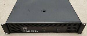 Electro Voice EV PA2450L 2x450W Professional PA Power Amplifier 900W Bridged