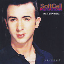 SOFT CELL / MARC ALMOND - CD - MEMORABILIA - THE SINGLES