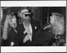 ~ Billy Gibbons of Zz Top 1990 Original Press Photo Recyler Album Release Party