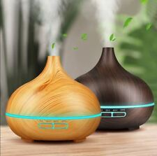 Ultrasonic Humidifier Air Diffuser US Led Aroma Essential Oil Purifier Mist Home