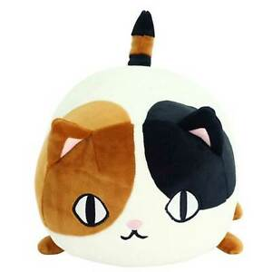 Super squishy Calico cat plush which doubles as a soft cushion Japanese import