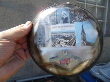 Vintage Ex Voto cadre verre bombé mercurisé calendrier Ste RITA Vendeville