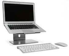 Solid Aluminum Adjustable Height Cooling Laptop Stand Apple Macbook Pro/Air