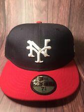 NEW YORK CUBANS VINTAGE BASEBALL NEW ERA FITTED/ Sz: 7 1/8