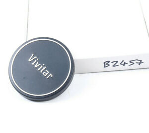 Vivitar metal 57mm lens cap to fit lens with 55mm filter thread. (B2457)