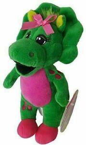 "Baby Bop Plush Fisher Price Barney Buddies Triceratops Soft Toy NEW 8"" Dinosaur"
