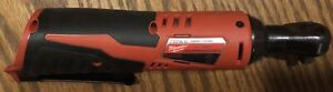 Milwaukee 2457-20 M12 12-Volt Lithium-Ion Cordless 3/8 in. Ratchet Bare Tool