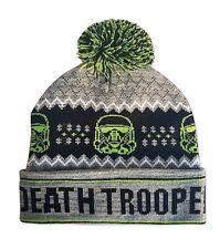 Star Wars Death Trooper Ugly Sweater Winter Hat W/ Pom Pom Free S&H
