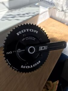 Rotor 3d+ Crankset with Rotor NoQ Aero Chainrings