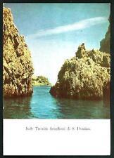Isole Tremiti ( Foggia ) : Faraglioni di S. Domino, cartolina non vgt. anni '60i