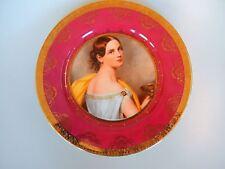 JKW Bavaria Cabinet Portrait Plate Beehive Mark
