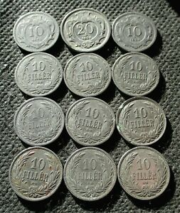 OLD COINS OF AUSTRIA & HUNGARY (AUSTRO-HUNGARIAN HABSBURG EMPIRE) - MIX 1430