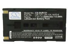 UR-124D Battery for Sanyo Xacti NV-HD500, Xacti NV-KD100, Xacti NV-DV35  2000mAh
