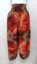 Aladdin / Happy / Harem Pants Light and Comfortable Elastic Waist Size 12-16