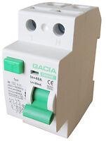 Fehlerstromschutzschalter SR6HE 2P 40A/30mA AC FI Schalter Schutzschalter