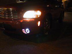 Halo Fog Lamps Angel Eye Lights for 2006 2007 2008 09 10 011 Chevrolet Chevy HHR