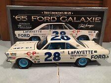University of Racing 1965 Fred Lorenzen Lafayette Ford Galaxie 1/24