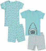 Cutie Pie Baby Toddler Boys 4-pc. Shark Pajama Set